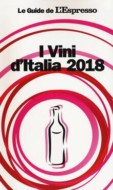 I vini d'Italia 2018 - copertina