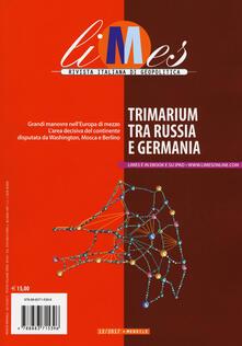 Daddyswing.es Limes. Rivista italiana di geopolitica (2017). Vol. 12: Trimarium tra Russia e Germania. Image