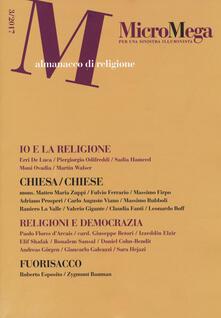 3tsportingclub.it Micromega (2017). Vol. 3: Almanacco di religione. Image