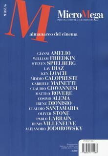Promoartpalermo.it Micromega (2016). Vol. 9: Almanacco del cinema. Image