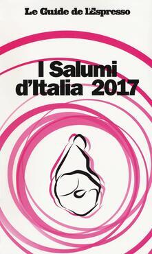 I salumi d'Italia 2017 - copertina