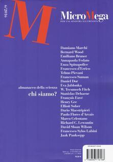 Micromega. Vol. 6 - copertina
