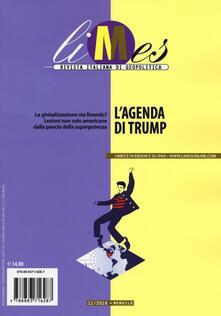 Antondemarirreguera.es Limes. Rivista italiana di geopolitica (2016). Vol. 11: agenda di Trump, L'. Image