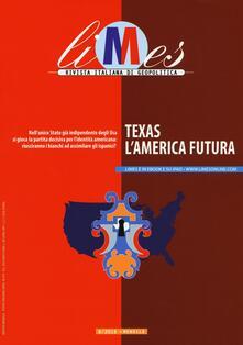 Limes. Rivista italiana di geopolitica (2016). Vol. 8: Texas. L'America futura. - copertina