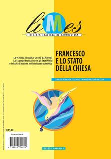 Camfeed.it Limes. Rivista italiana di geopolitica (2018). Vol. 6: Francesco e lo stato della Chiesa. Image