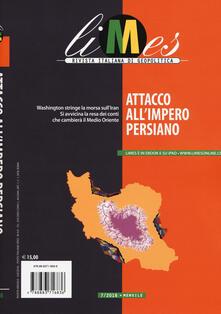 Winniearcher.com Limes. Rivista italiana di geopolitica (2018). Vol. 7: Attacco all'impero persiano. Image