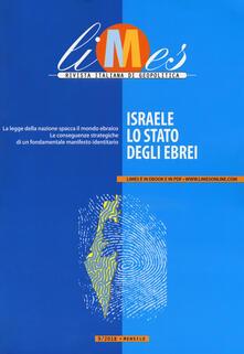 Milanospringparade.it Limes. Rivista italiana di geopolitica (2018). Vol. 9: Israele, lo Stato degli ebrei. Image