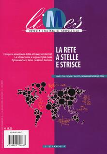 Steamcon.it Limes. Rivista italiana di geopolitica (2018). Vol. 10: rete a stelle e strisce, La. Image