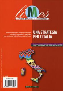 Squillogame.it Limes. Rivista italiana di geopolitica (2019). Vol. 2: strategia per l'Italia, Una. Image