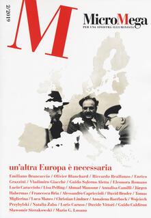 Ipabsantonioabatetrino.it Micromega (2019). Vol. 2: altra Europa è necessaria, Un'. Image