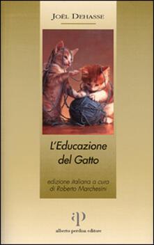 L' educazione del gatto - Joël Dehasse - copertina