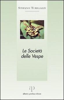 Le società delle vespe - Stefano Turillazzi - copertina