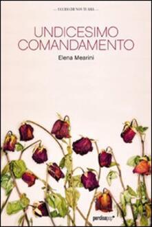 Undicesimo comandamento - Elena Mearini - copertina