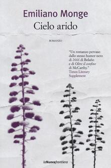 Cielo arido - Emiliano Monge - copertina