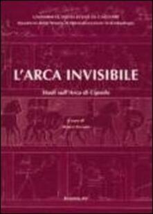 L' arca invisibile. Studi sull'arca di Cipselo - copertina