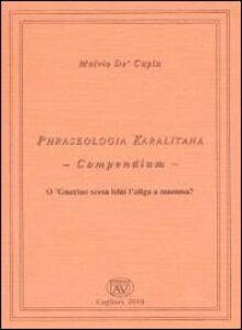 Phraseologia karalitana. Compendium