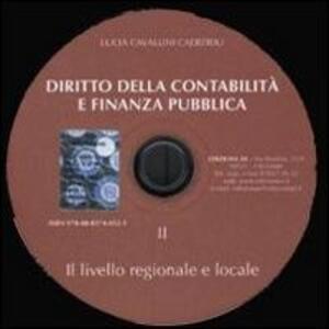 Diritto della contabilità e finanza pubblica. Con CD-ROM. Vol. 2: Il livello regionale e locale.