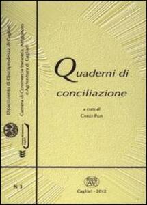 Quaderni di conciliazione. Vol. 3