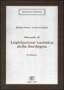 Manuale di legislazione turistica della Sardegna