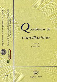 Quaderni di conciliazione (2017). Con CD-ROM. Vol. 4 - copertina