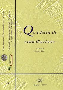 Quaderni di conciliazione (2017). Vol. 6