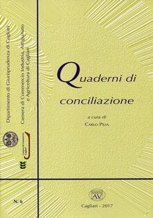 Quaderni di conciliazione (2017). Vol. 6 - copertina