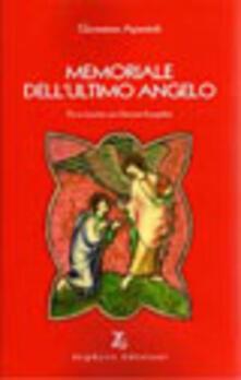 Memoriale dell'ultimo angelo - Giovanna Apostoli - copertina