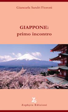 Giappone: primo incontro - Giancarla Fioroni Sandri - copertina