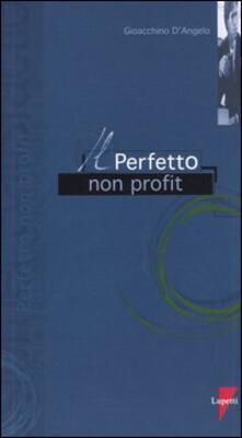 Il perfetto non profit - Gioacchino D'Angelo - copertina