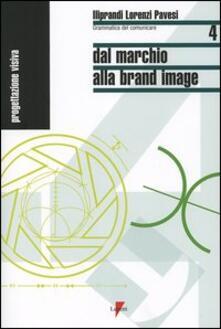 Dal marchio alla brand image - Giancarlo Iliprandi,Giorgio Lorenzi,Jacopo Pavesi - copertina