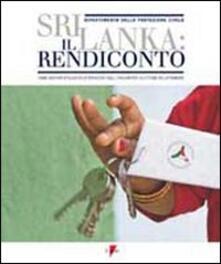 Sri Lanka: il rendiconto. Come abbiamo utilizzato le donazioni degli italiani per le vittime dello tsunami - copertina