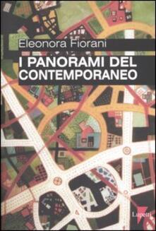 I panorami del contemporaneo - Eleonora Fiorani - copertina
