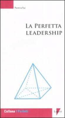 La perfetta leadership - Flaminia Fazi - copertina