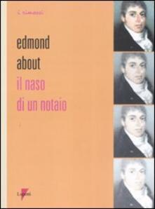 Il naso di un notaio - Edmond About - copertina