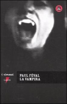 La vampira - Paul Feval - copertina