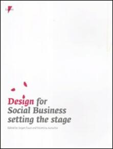 Design for social business setting the stage - copertina