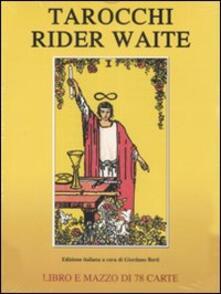 Tarocchi Rider Waite. Con 78 carte - copertina