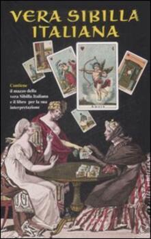 Librisulladiversita.it Vera sibilla italiana. Con 52 carte Image