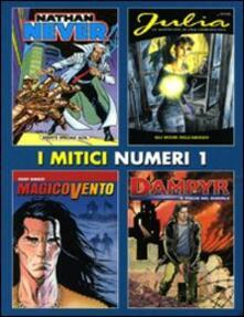 I mitici numeri 1 - copertina