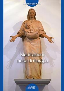 Meditazioni mese di maggio - Enzo Boschetti - copertina