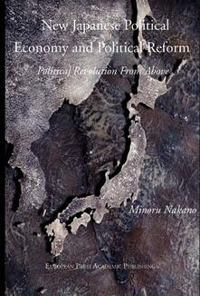New japanese political economy and political reform - copertina