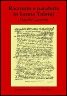 Racconto e parabola in Leone Tolstoj - Danilo Cavaion - copertina
