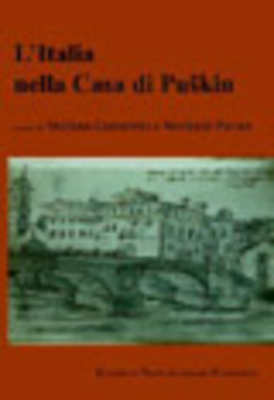 L' Italia nella casa di Puskin - copertina