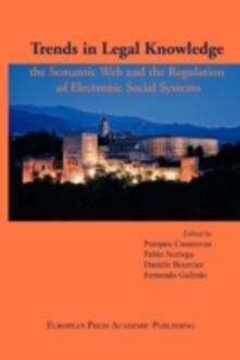 Trends in Legal Knowledge, the Semantic Web and the Regulation of Electronic Social Systems - copertina