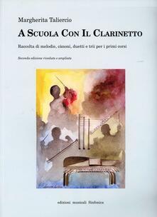 A scuola con il clarinetto - Margherita Taliercio - copertina
