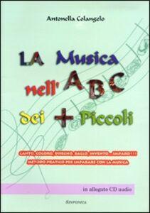 La musica nell'ABC dei più piccoli