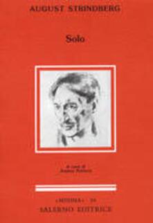 Solo - August Strindberg - copertina