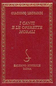 I canti e le Operette morali