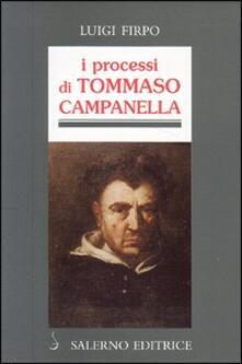 Criticalwinenotav.it I processi di Tommaso Campanella Image