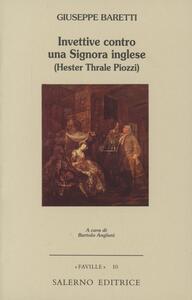 Invettive contro una signora inglese (Hester Thrale Piozzi)
